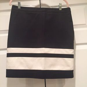 Cynthia Rowley Striped Skirt